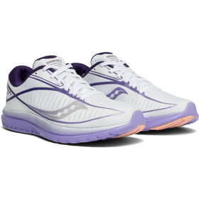 saucony Kinvara 10 Shoes Women, white/purple